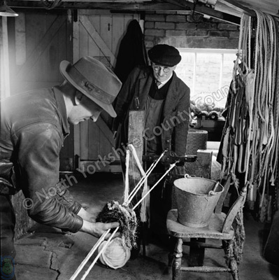 W.R. Outhwaite, Rope Makers, Hawes